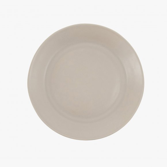 Matt Grey Ceramic Side Plate | The Collaborative Store
